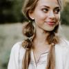 Nickel & Suede Stud Earrings | Teardrop Gold