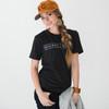 Unisex/Men's N&S Heather Black Vintage Tee