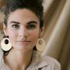Natural Sunburst Nova Leather Earrings