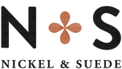 Nickel and Suede Logo
