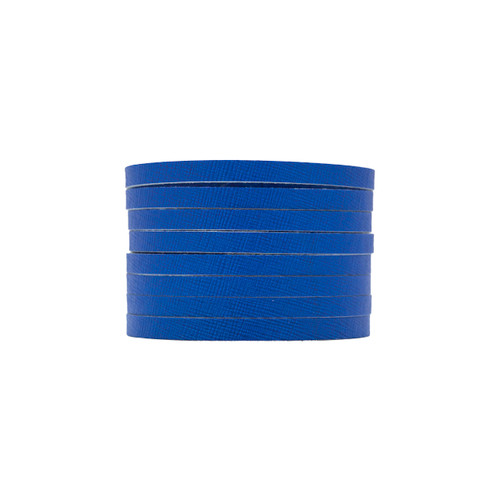 Ultramarine Slit Leather Cuff