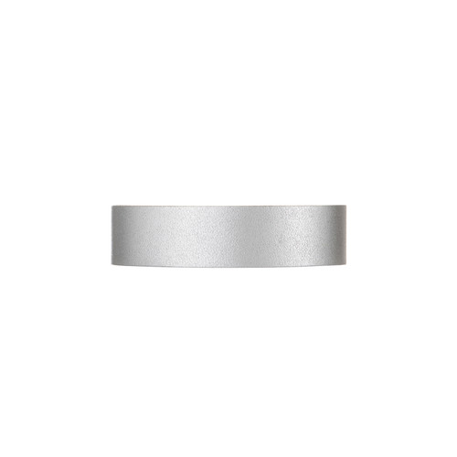 Silver Satin Thin Cuff | Nickel & Suede