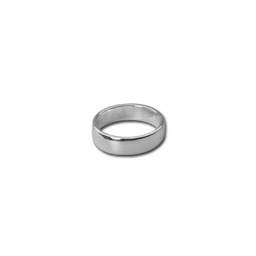 4mm Silver Band