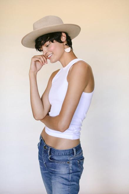 Ivory Monroe Rancher Hat