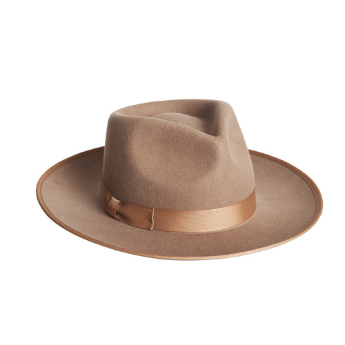 Brown Monroe Rancher | Nickel and Suede