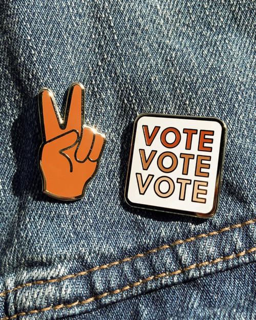 Vote Enamel Pin