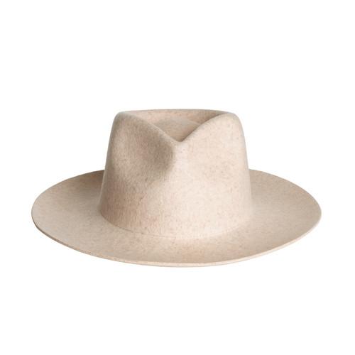 Ivory Zephyr Rancher Hat | Nickel & Suede