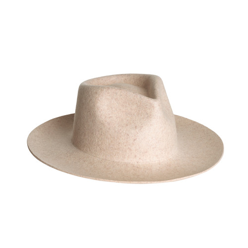Ivory Zephyr Rancher Hat | Nickel & Suede