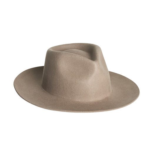 Sage Zephyr Rancher Hat | Nickel & Suede
