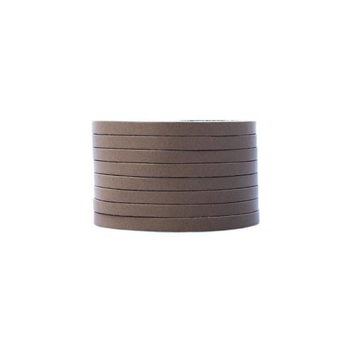 Stone Slit Leather Cuff