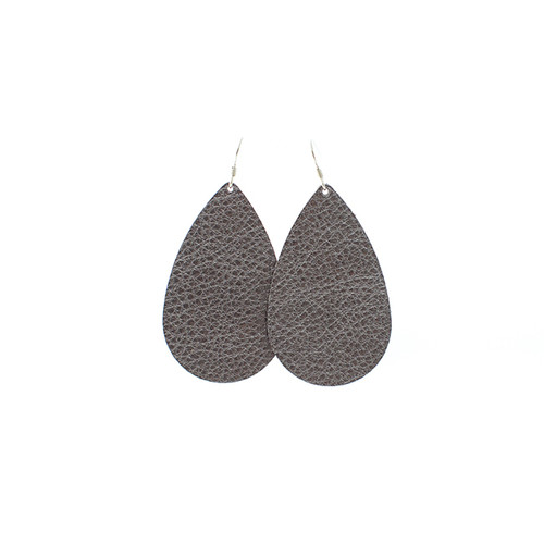 Glam Leather Earrings