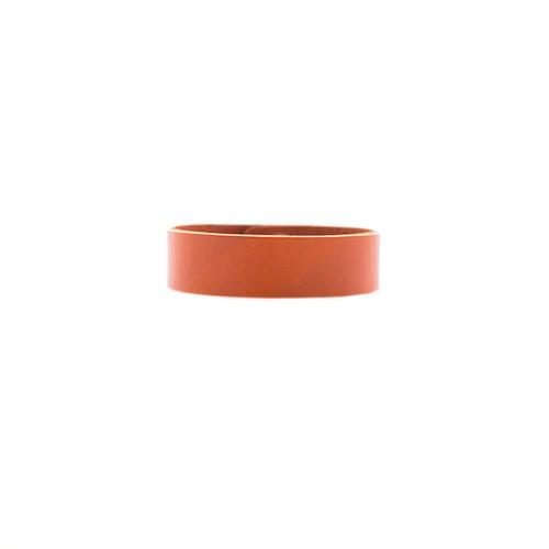 N S Select Orange Thin Leather Cuff