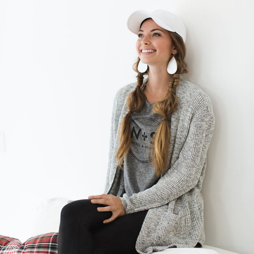 N&S Women's Gray Tee