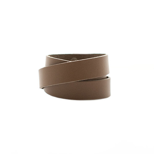 Stone Wrap Leather Cuff