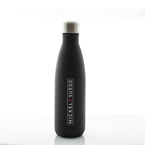 Matte Black Water Bottle