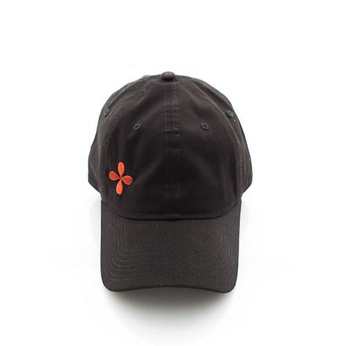N&S Black Logo Baseball Cap One size fits all Adjustable
