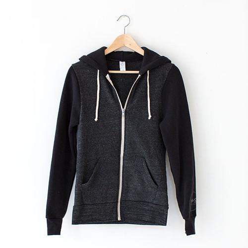 Eco-Fleece Zip Hoodie