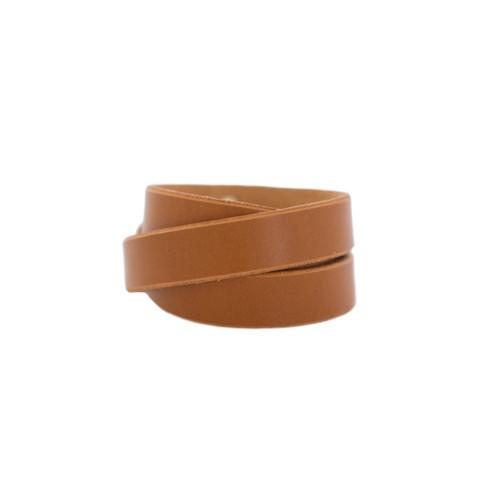 Tan Wrap Leather Cuff