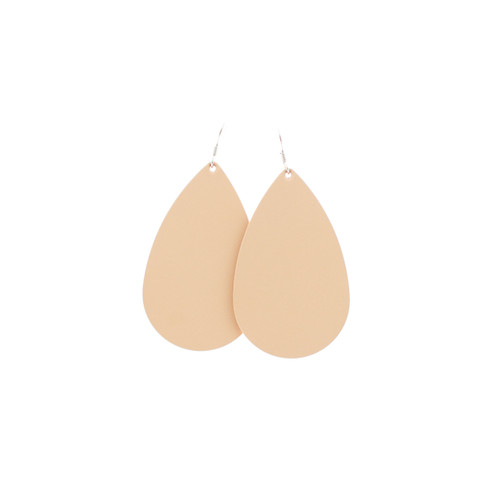 N&S Select Natural Leather Earrings