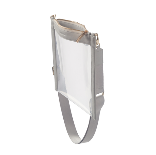Clarity Crossbody - Dove Grey