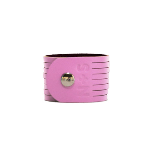 N&S Select Orchid Slit Leather Cuff