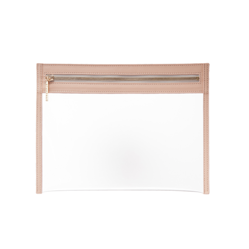 Clarity Clutch Small - Nude