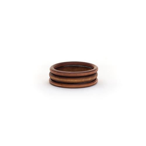 Brown Wooden Bangle Set