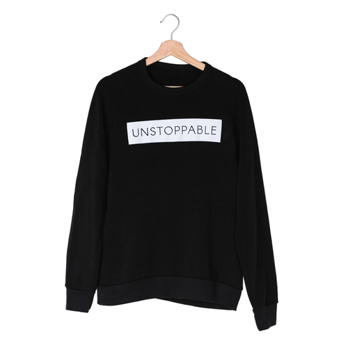 Unstoppable Black Sweatshirt