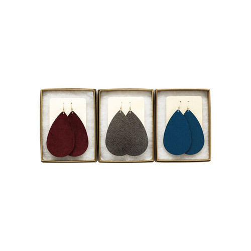 Autumn Reverie Essentials Leather Earring Set