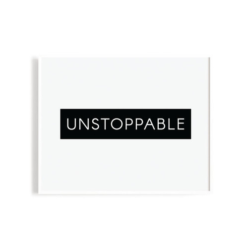 N&S Unstoppable Art Print