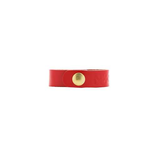 Select Crimson Thin Leather Cuff