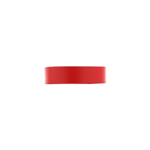 Select Crimson Thin Leather Cuff