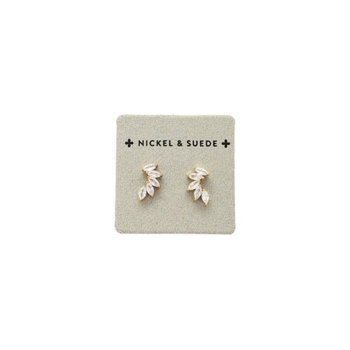 Marquise Stacked Stud Earrings