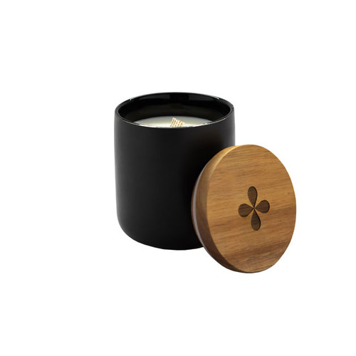 Nickel & Suede CONFIDENCE Candle And Lid