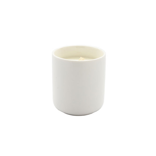 Nickel & Suede COMPLIMENTS Candle Without Lid