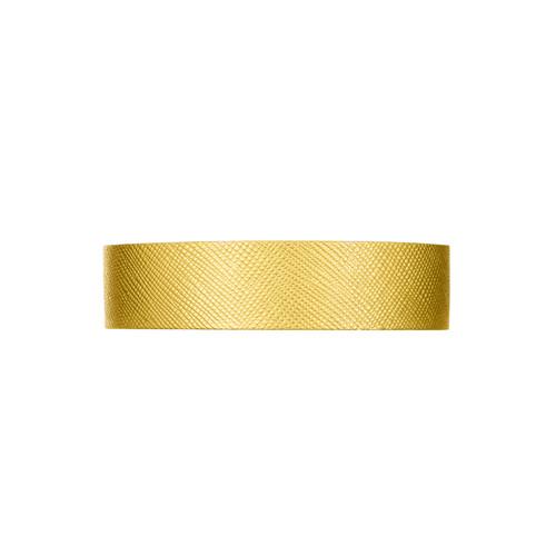 Gold Leaf Thin Leather Cuff | Nickel & Suede