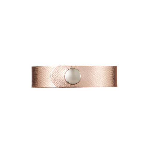 Rosé Thin Leather Cuff