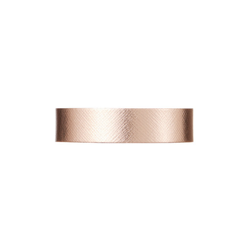Rosé Thin Leather Cuff | Nickel and Suede