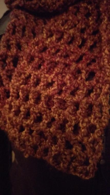 Crochet Christmas Gift Scarves