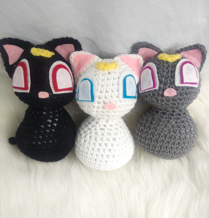 Crochet Sailormoon Cats