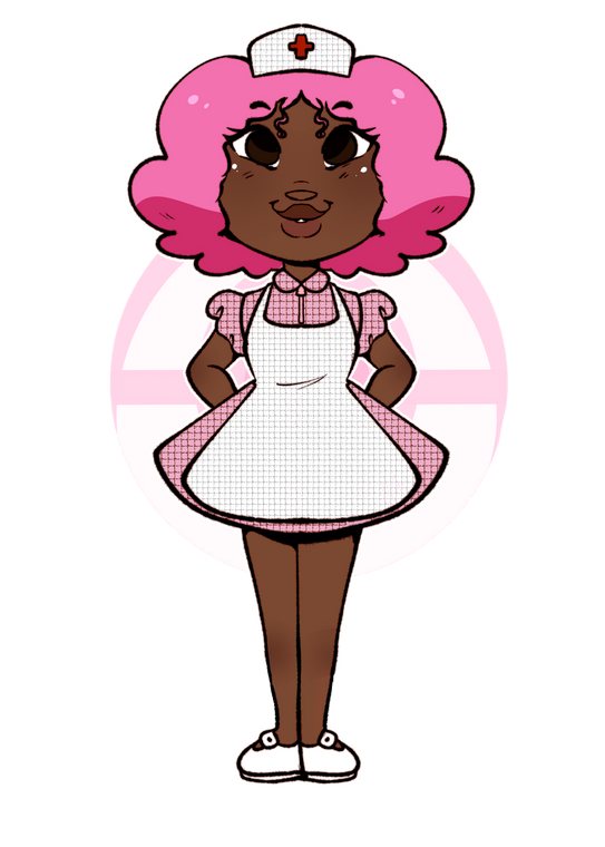 Nurse Joy Sticker