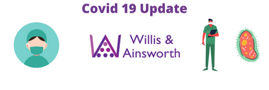 Willis & Ainsworth service information during covid 19  *Updated January 2021*