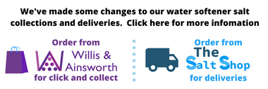 Update to water softener salt collections and deliveries