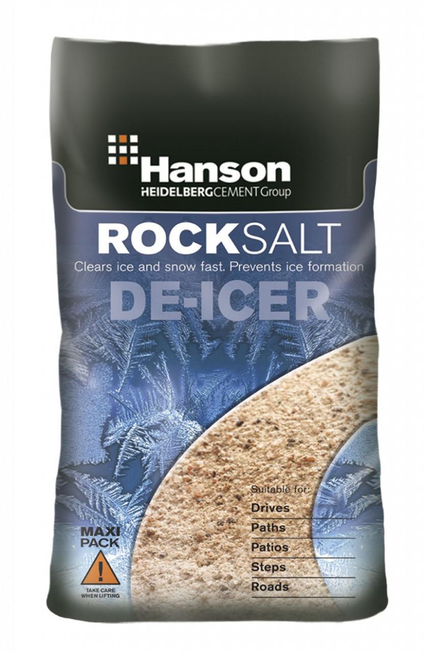 25KG Brown De-Icing Rock Salt BS3247
