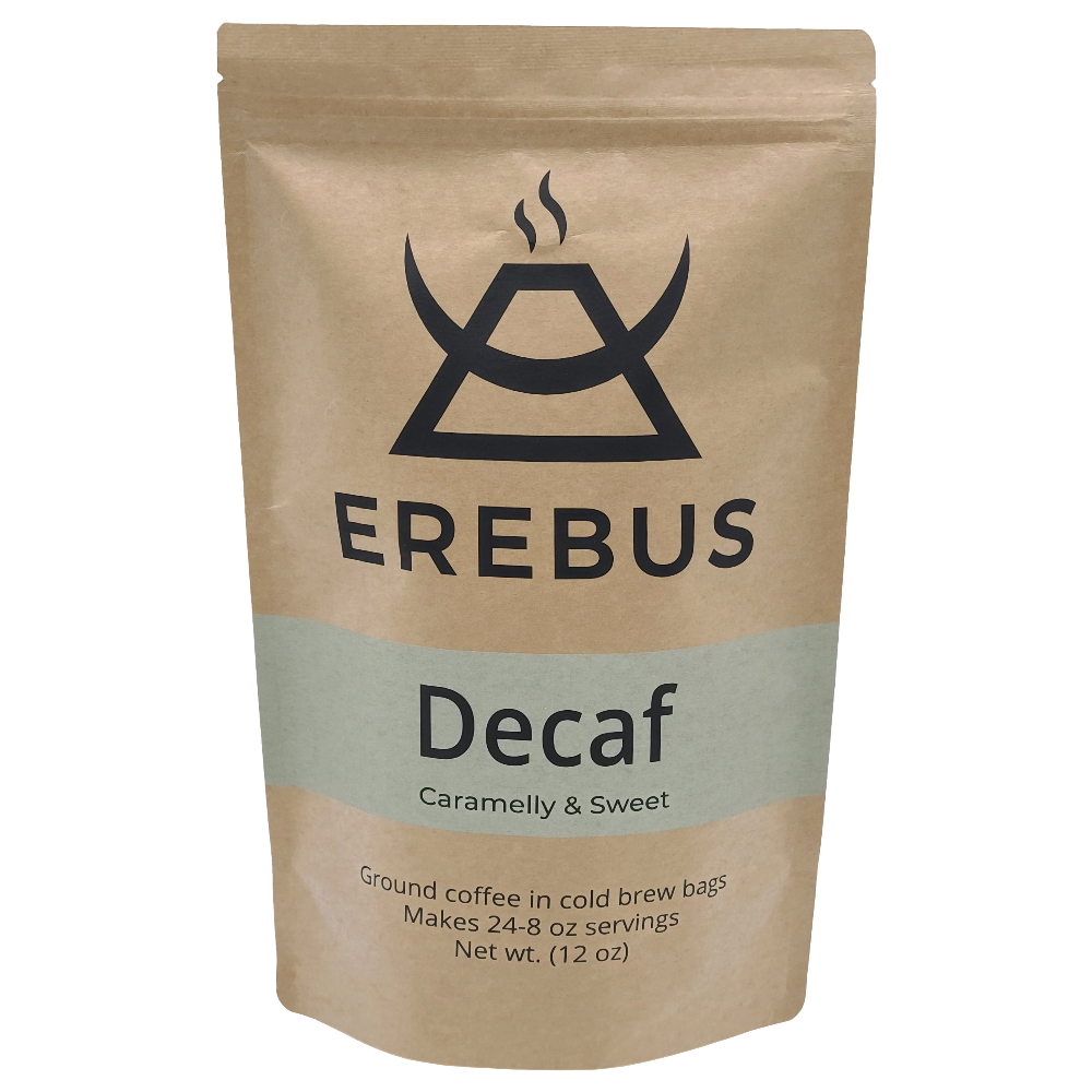 Ground Coffee In Filter Bags - Decaf Roast