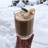 Orange Rosemary Iced Latte