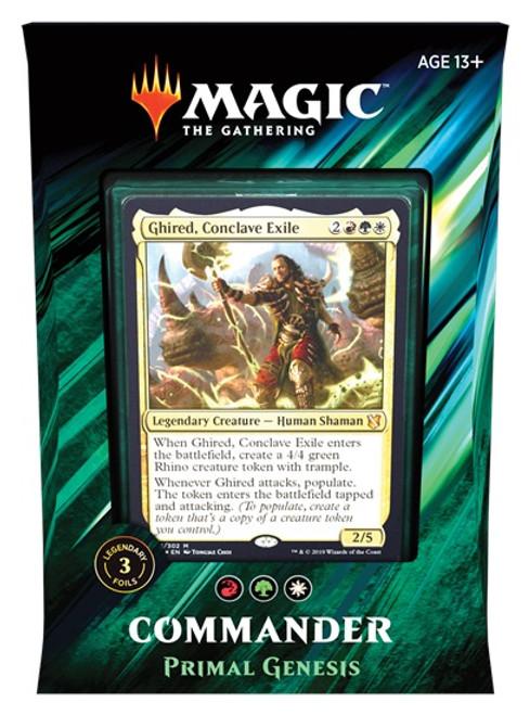 Magic the Gathering: Commander Deck - 2019 - Primal Genesis