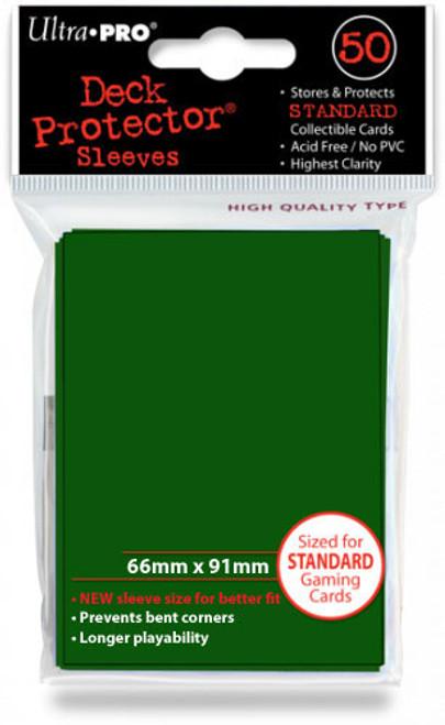 Ultra-Pro: Card Sleeves - Gloss Standard 50 - Green (104000001160)