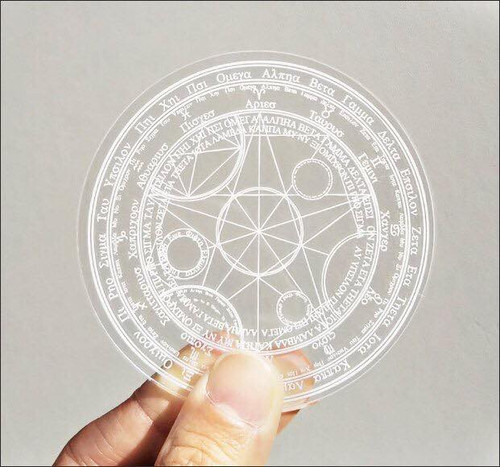 (C)Takumi Armory: Coaster - Magic Circle (Clear)