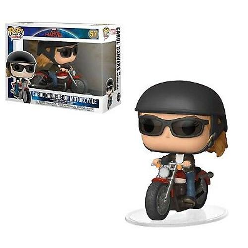 Captain Marvel: POP Figure - Carol Danvers on Motorcucle